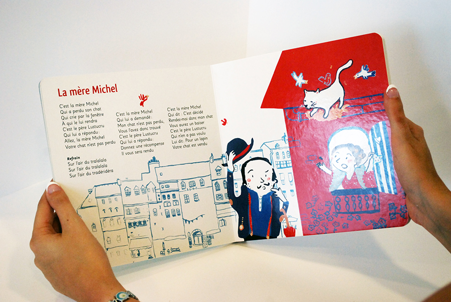 Layout of the inside of the book. Cleaning and placement of illustrations and choice of the fonts.